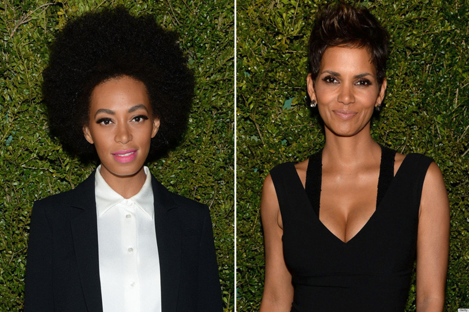 Halle Berry S Baby Bump Upstaged By Solange Knowles