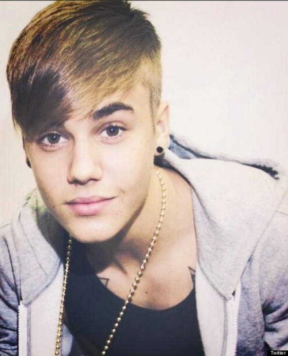 Justin Bieber Takes Hair Spiration From Rihanna With New Undercut Do PICS
