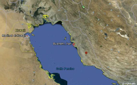 mappa iran