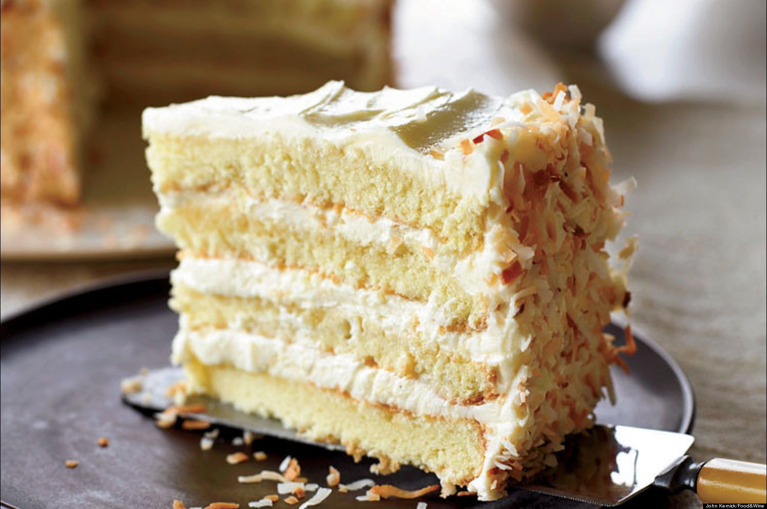 cheesecake flavored wedding cake recipe recipe of the day coconut cake huffpost 12556