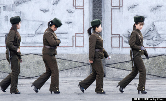 north korea high heels