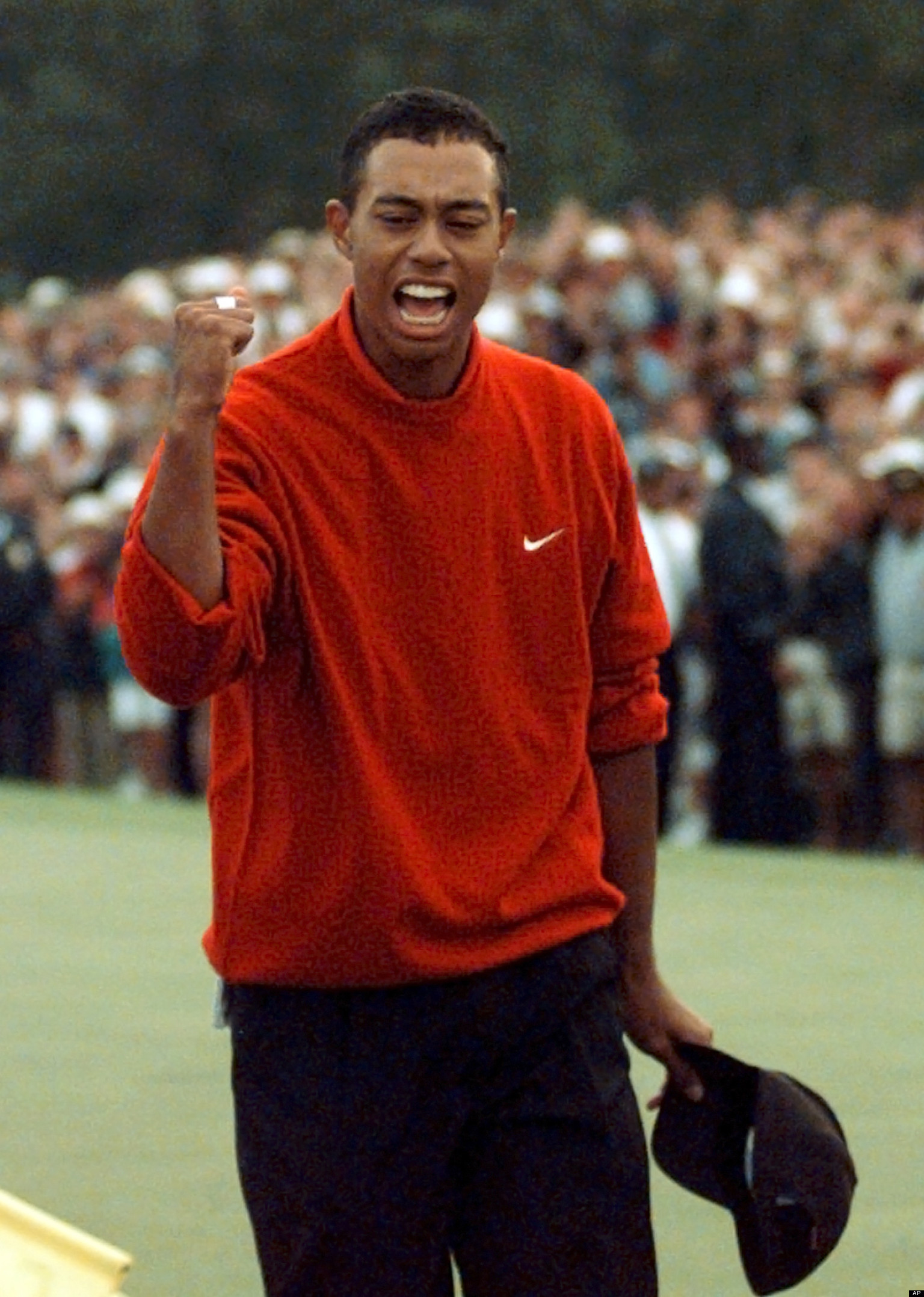 tiger woods u0026 39  masters history includes 18 appearances  four wins at augusta national