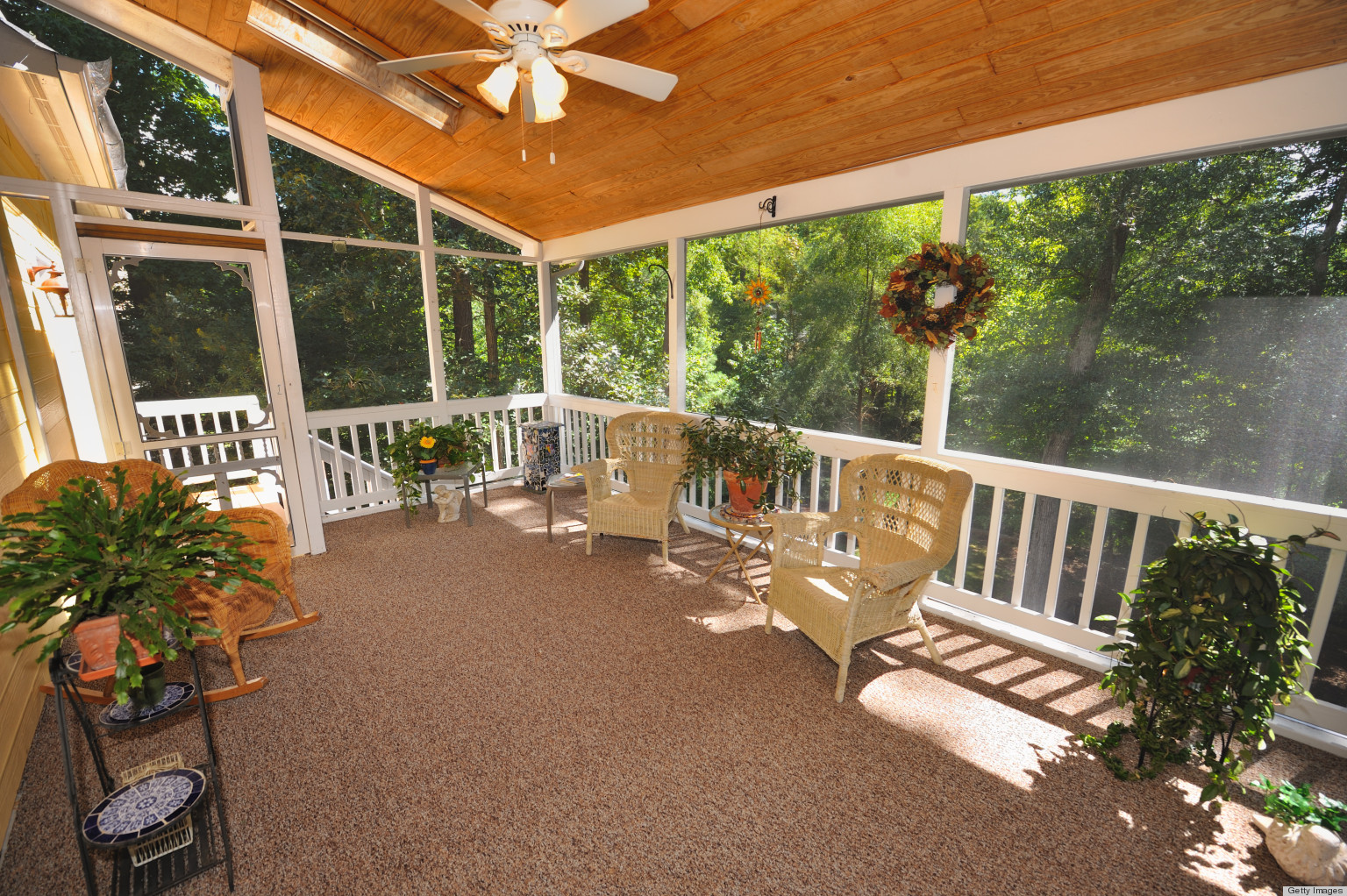 clean porch and patio screens to maximize your lounging pleasure huffpost - Outdoor Screened Porches