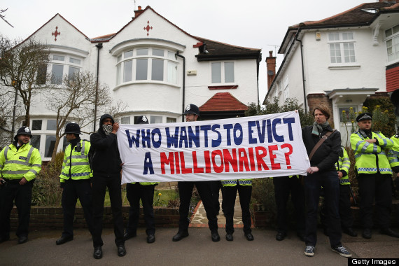 evict millonaire