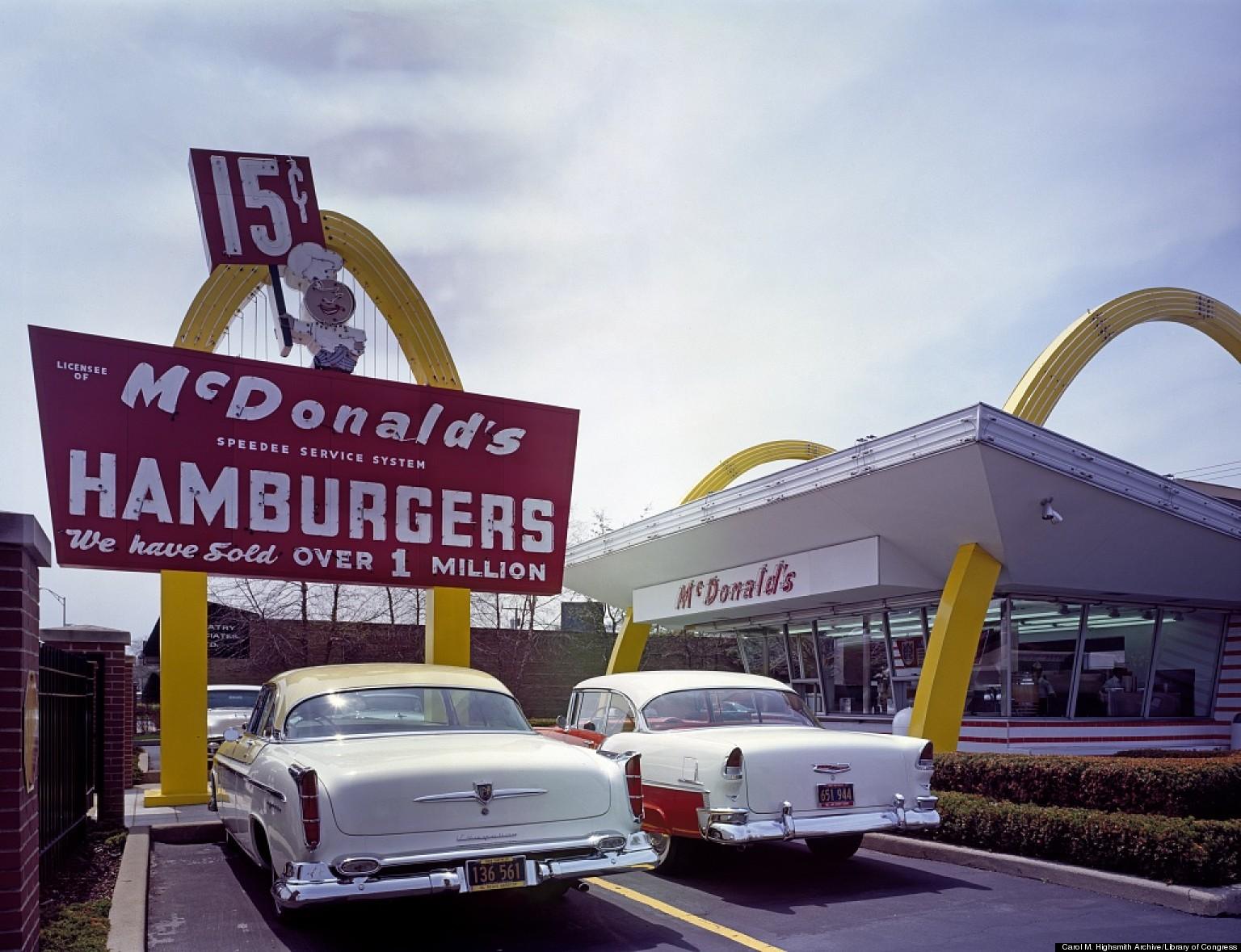 Original Mcdonalds 1940