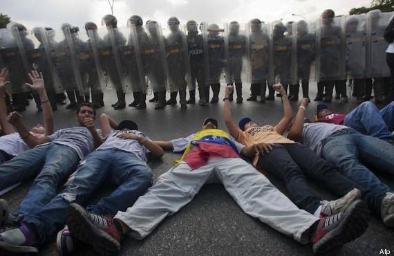 incidentes con policía elecciones venezuela