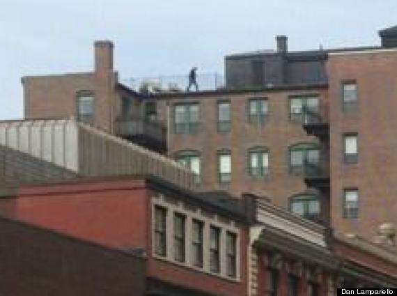 man on the roof boston marathon