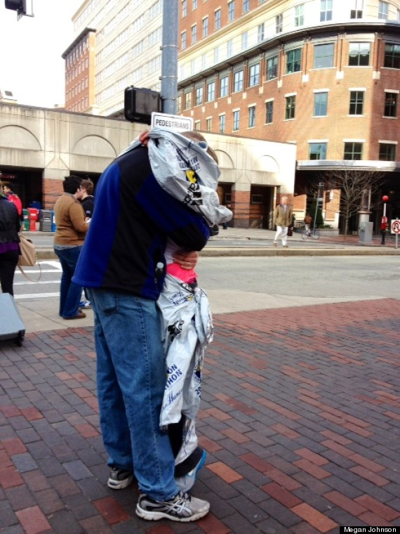 couple reunited boston marathon