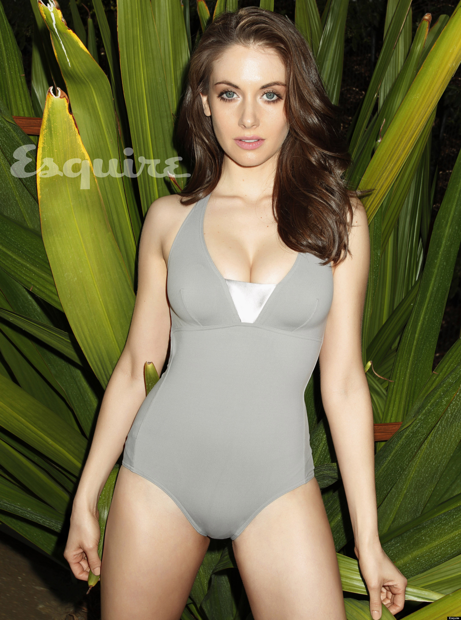 Alison Brie Hot Community Actress Sizzles In Esquires