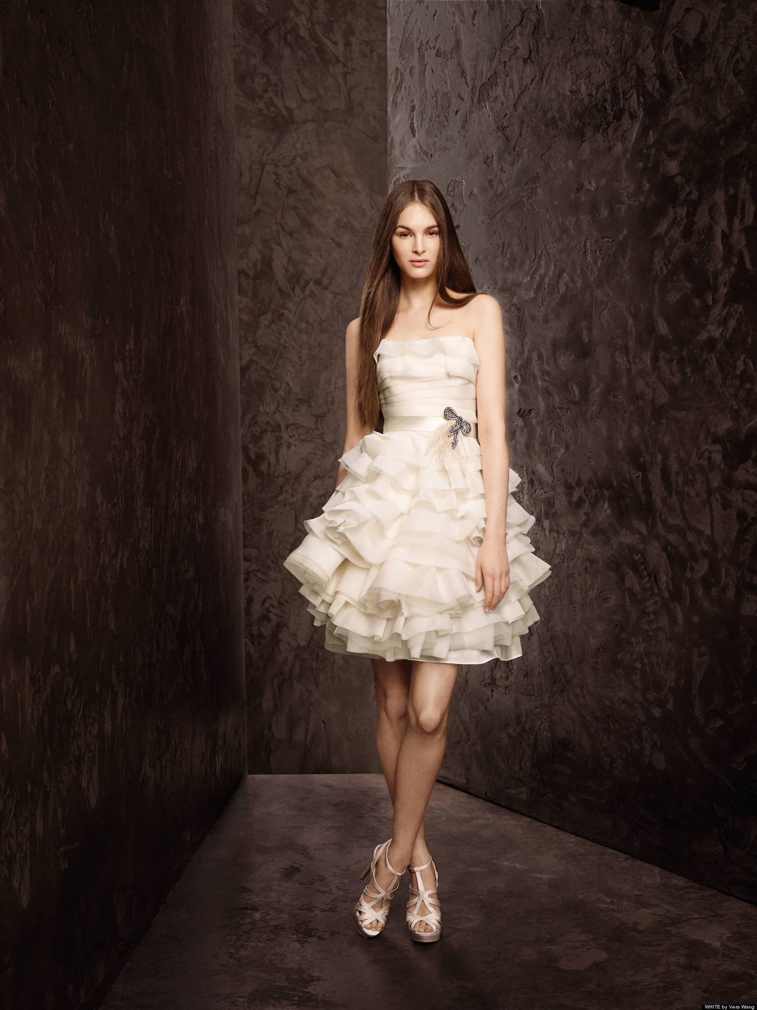 Short Wedding Dresses For Spring Brides (PHOTOS)