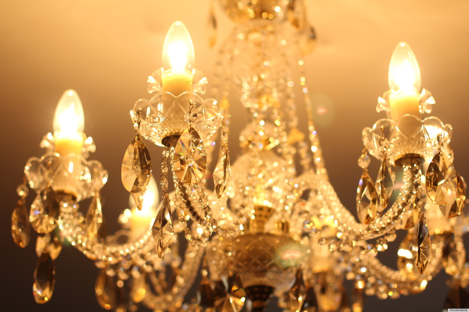 Clean a chandelier with help from yourhair dryer huffpost arubaitofo Gallery