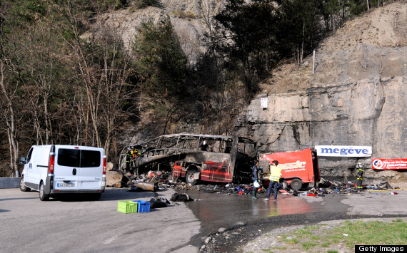 french alps bus crash