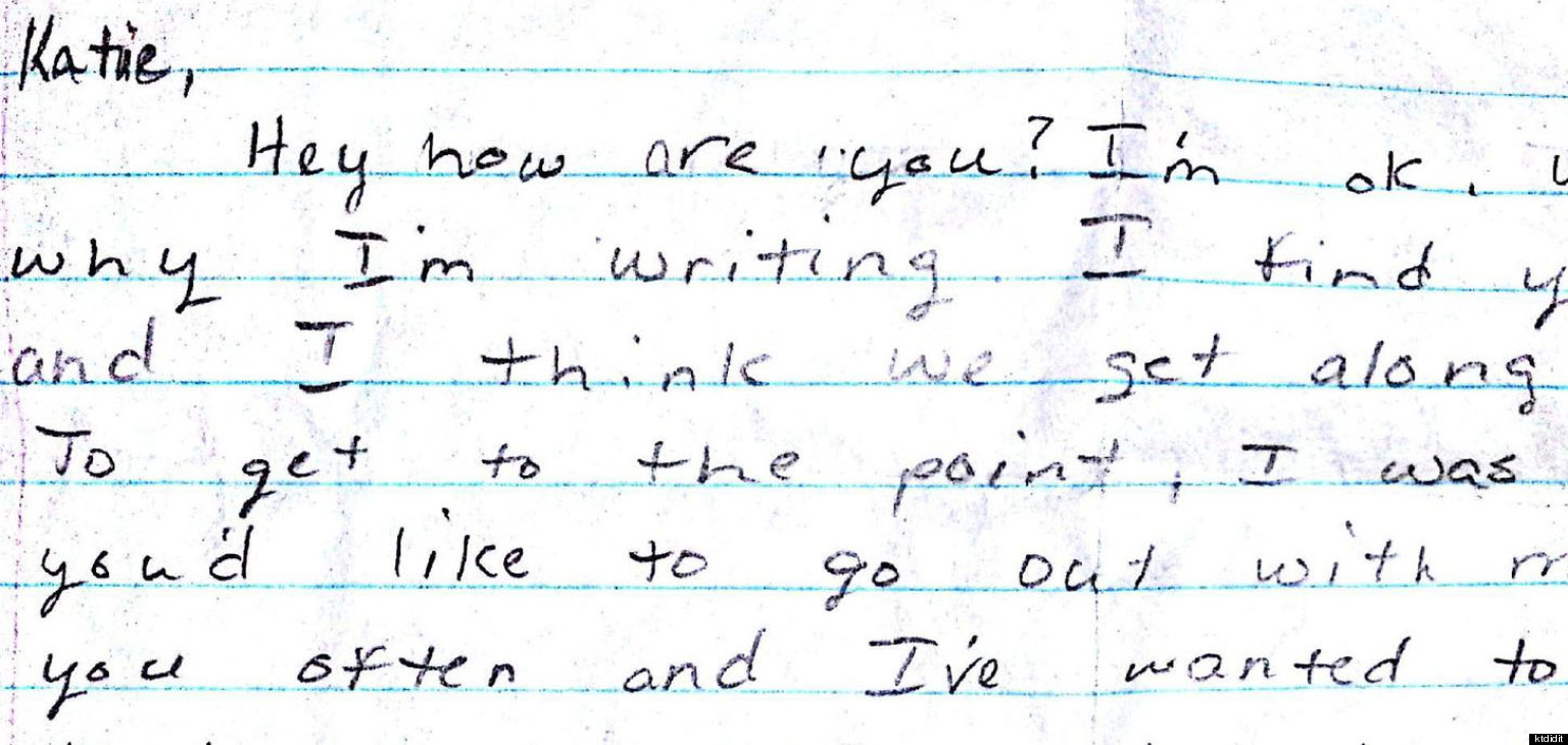 High School Love Letter Sweet Note Begins 17 Year Relationship
