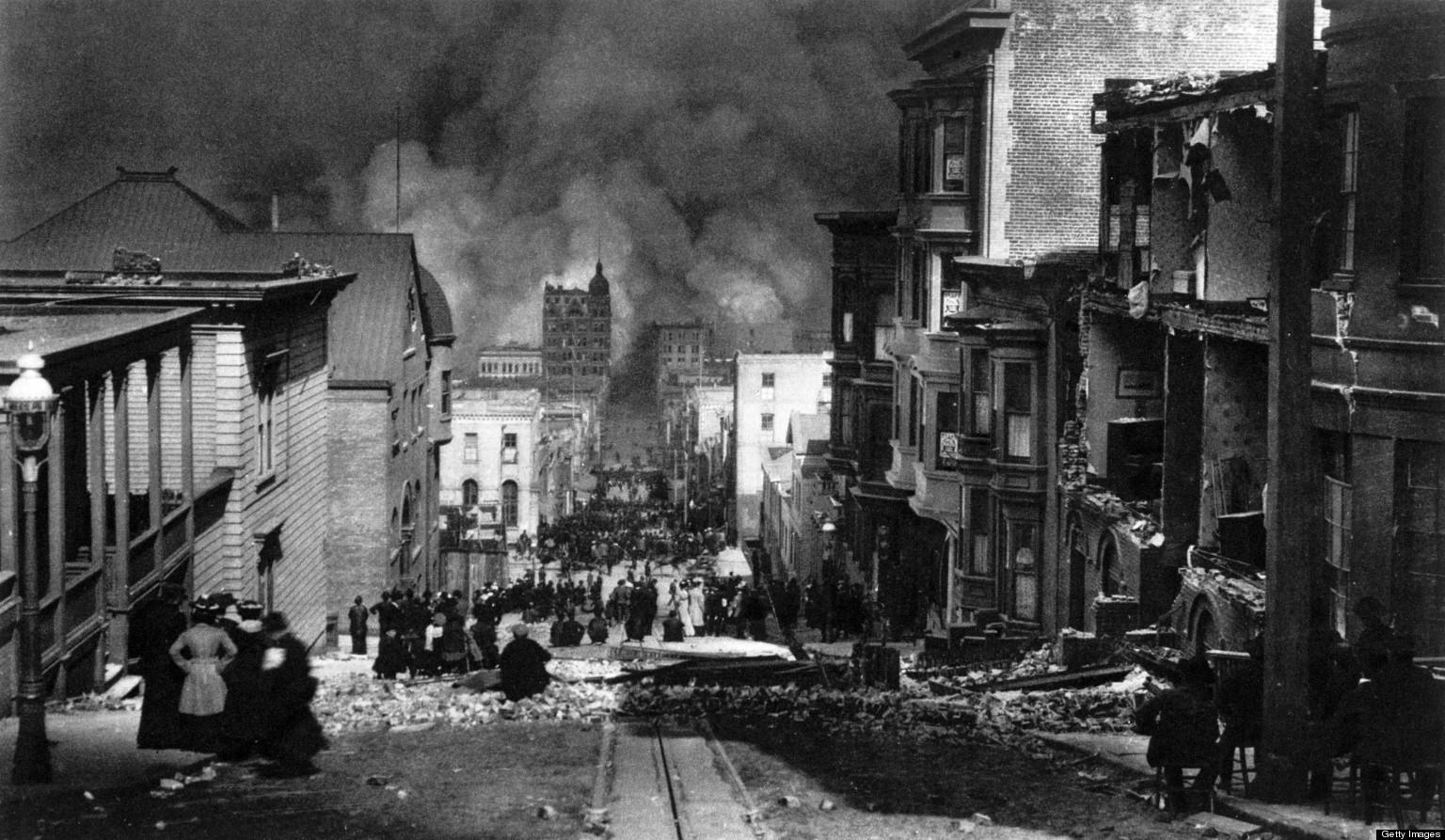 San Francisco 1906 Earthquake Anniversary Remembering