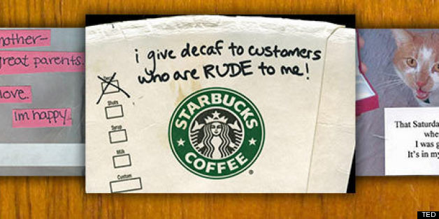 WATCH: Hilarious And Heartbreaking Secrets From Postsecret.com