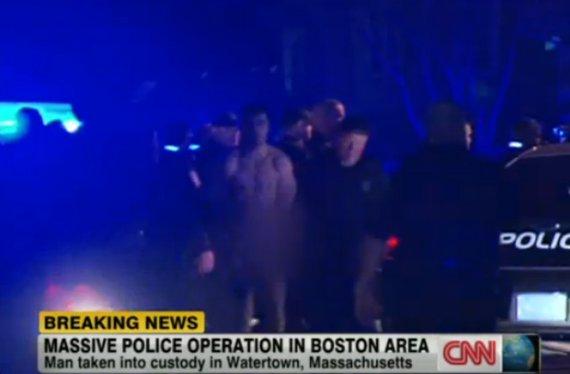naked man suspect boston waterdown bombing
