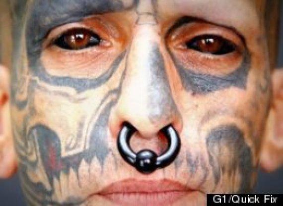 rodrigo fernando dos santos tattooed eyeball