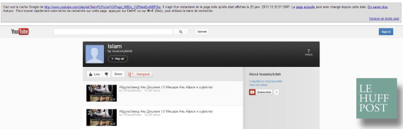 cache youtube