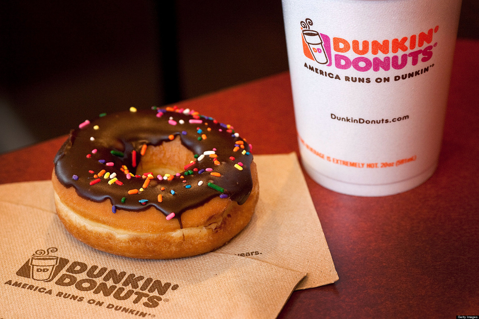 Dunkin' Donuts In Certain Boston Areas Stay Open To Serve Police ...