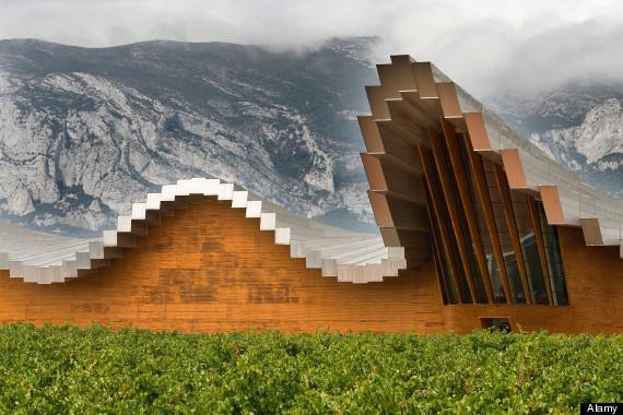 ysios winery calatrava