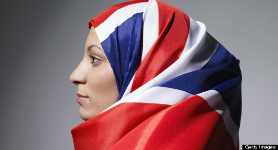 hijab union jack
