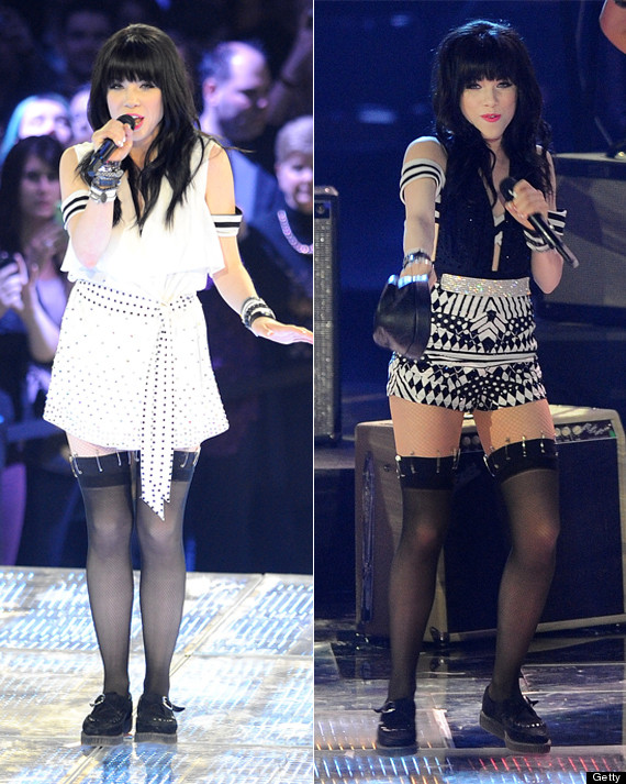 carly rae jepsen junos outfit