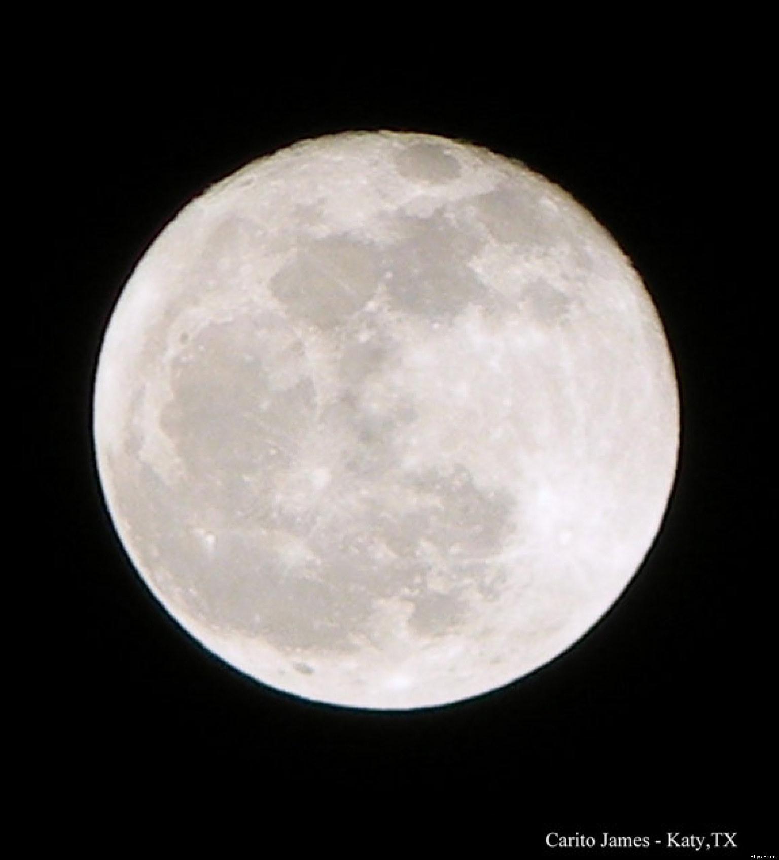 Full Moon: Lunar Eclipse 2013: 'Pink' Full Moon Brings Planetary