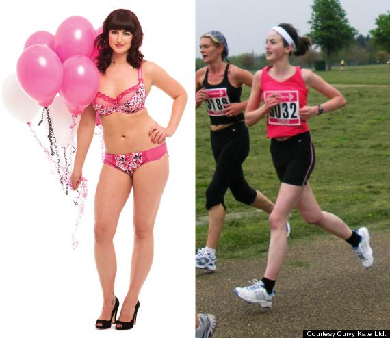 anorexic plussize model