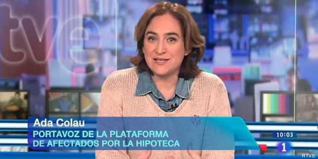 Ada Colau, en Los Desayunos de TVE el pasado 13 de marzo