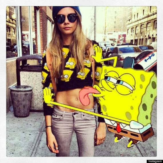best celebrity instagram pics of 2013