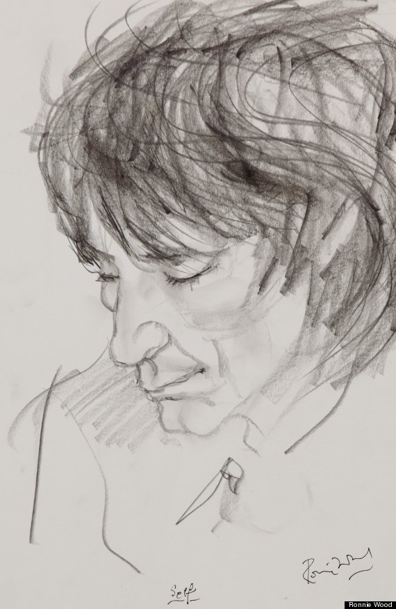 ronnie wood self portrait