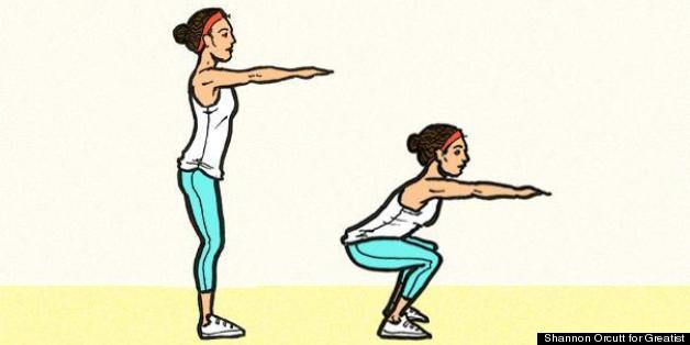 Squats to increase speed