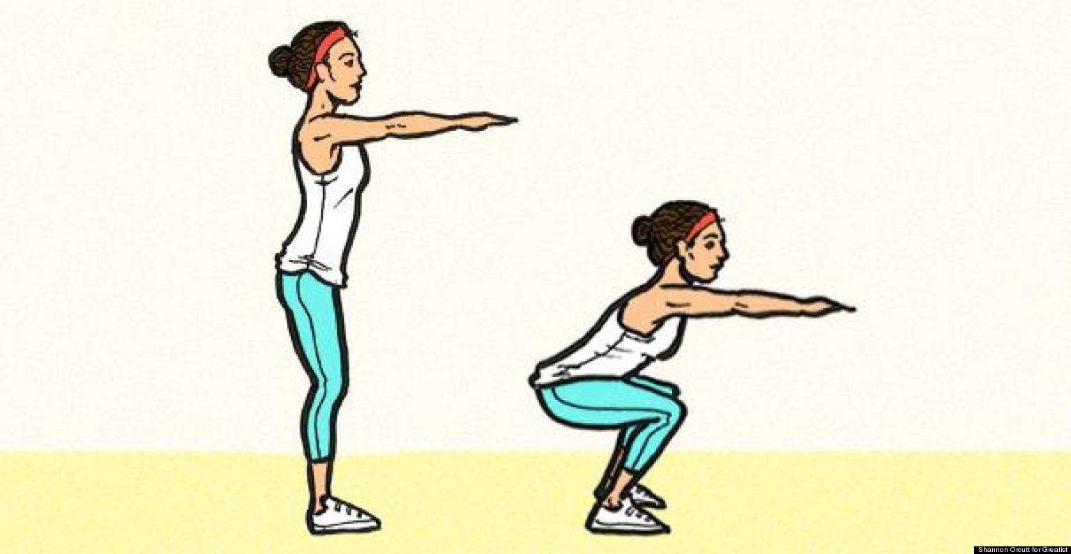 How To Do The Perfect Squat | HuffPost