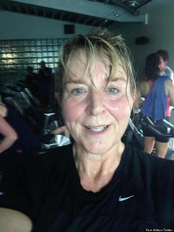 fern britton without make up