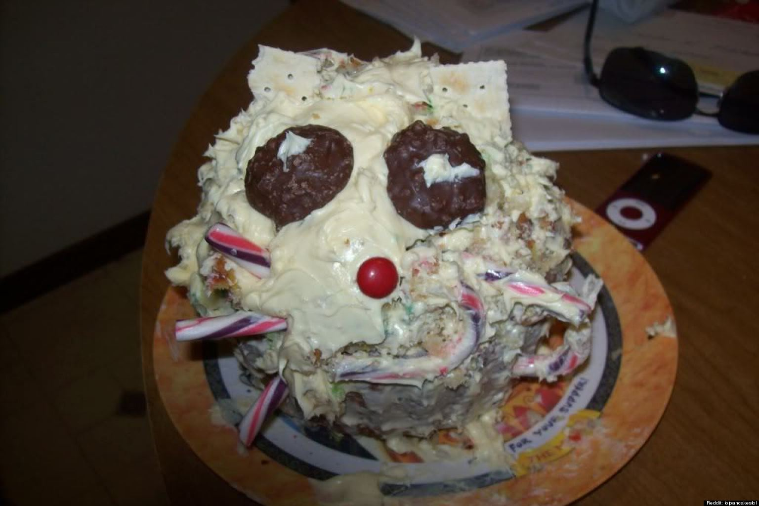 Pinterest Birthday Cake Fail