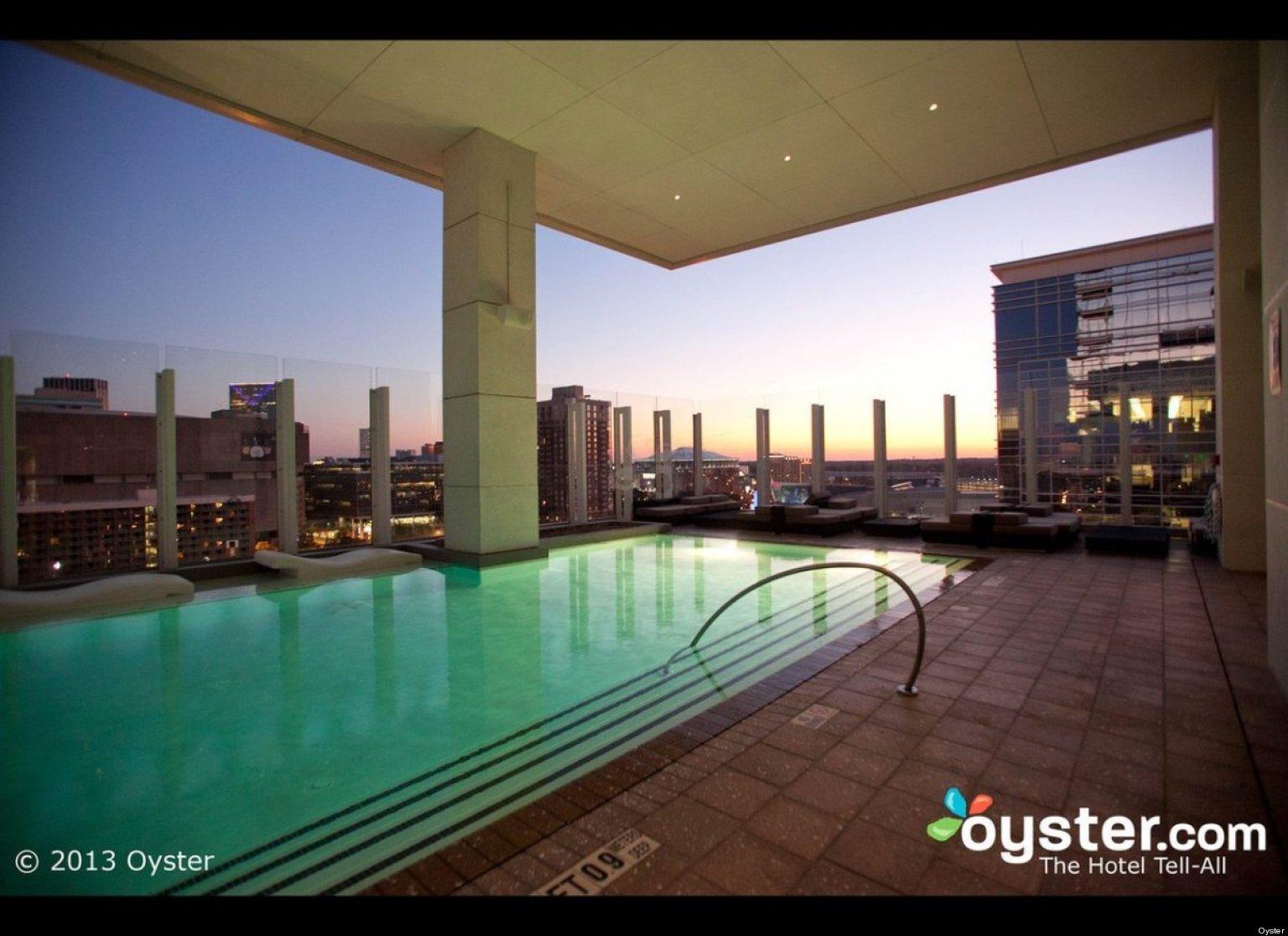 12 Best Urban Rooftop Pools Huffpost