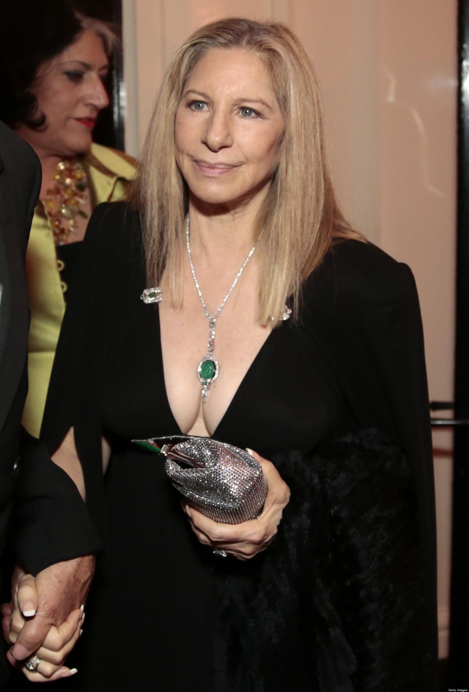 Barbra Streisand Photo Iconic Singer Looks Amazing In Low