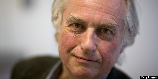 Richard Dawkins Author and evolutionary biologist, poses for a portrait at the Oxford Literary Festival, in Christ Church, on March 24, 2010 in Oxford, England. (Photo by David Levenson/Getty Images)