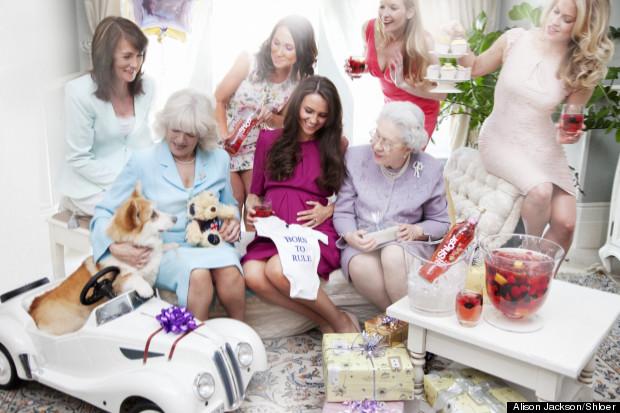 alison jackson baby shower royal family shloer