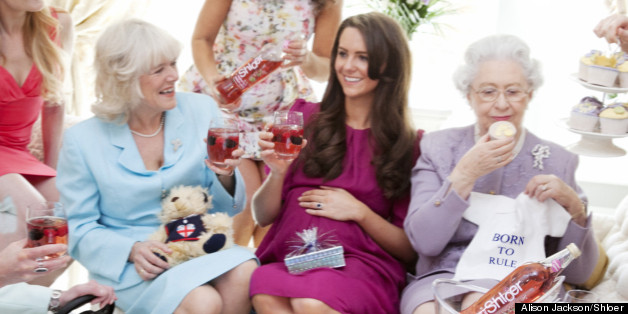 Kate Middletonu0027s Royal Baby Shower   As Imagined By Alison Jackson  (PICTURES)