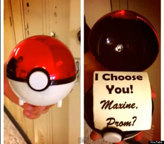 pokemon prom proposal