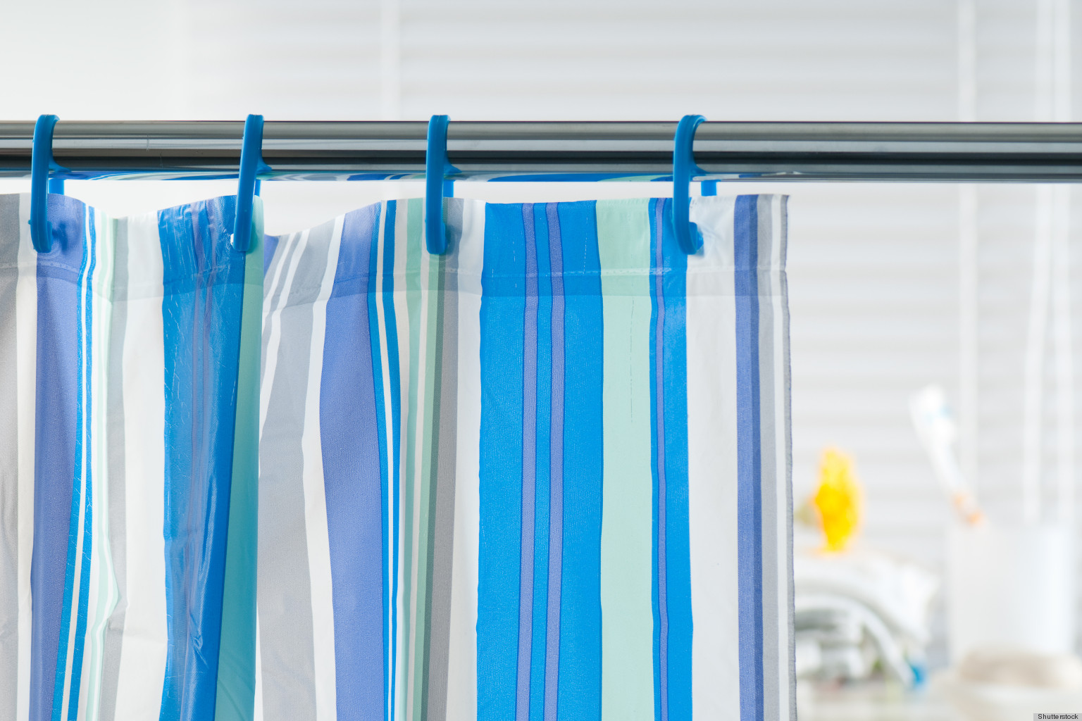 Prevent Mildew From Growing On Shower Curtains With...Salt? | HuffPost