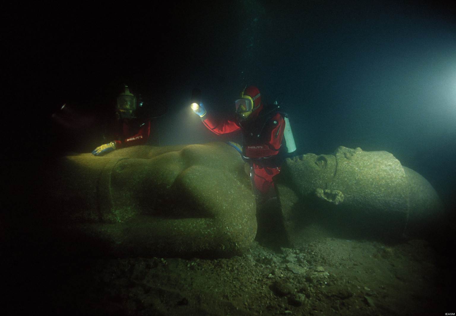 Heracleion Photos Lost Egyptian City Revealed After Years - Explorers discover ancient 1200 year old egyptian city
