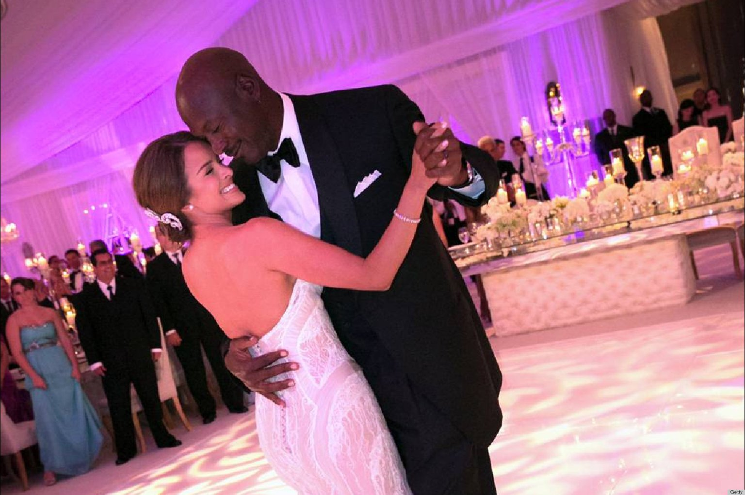 Yvette Prieto Michael Jordan Could Store Those Wedding Gifts In Their Enormous House PHOTOS
