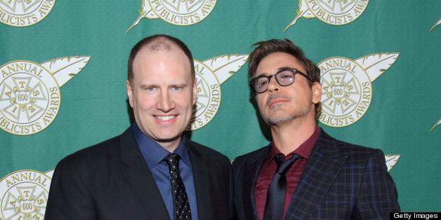 Kevin Feige, Marvel Studios President, On The Future Of 'Iron Man' & Hiring Shane Black