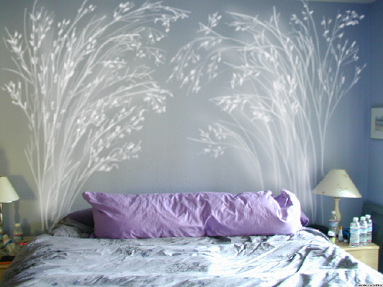 5 DIY Headboard Ideas That Arenu0027t Technically Supposed To Be Headboards  (PHOTOS) | HuffPost
