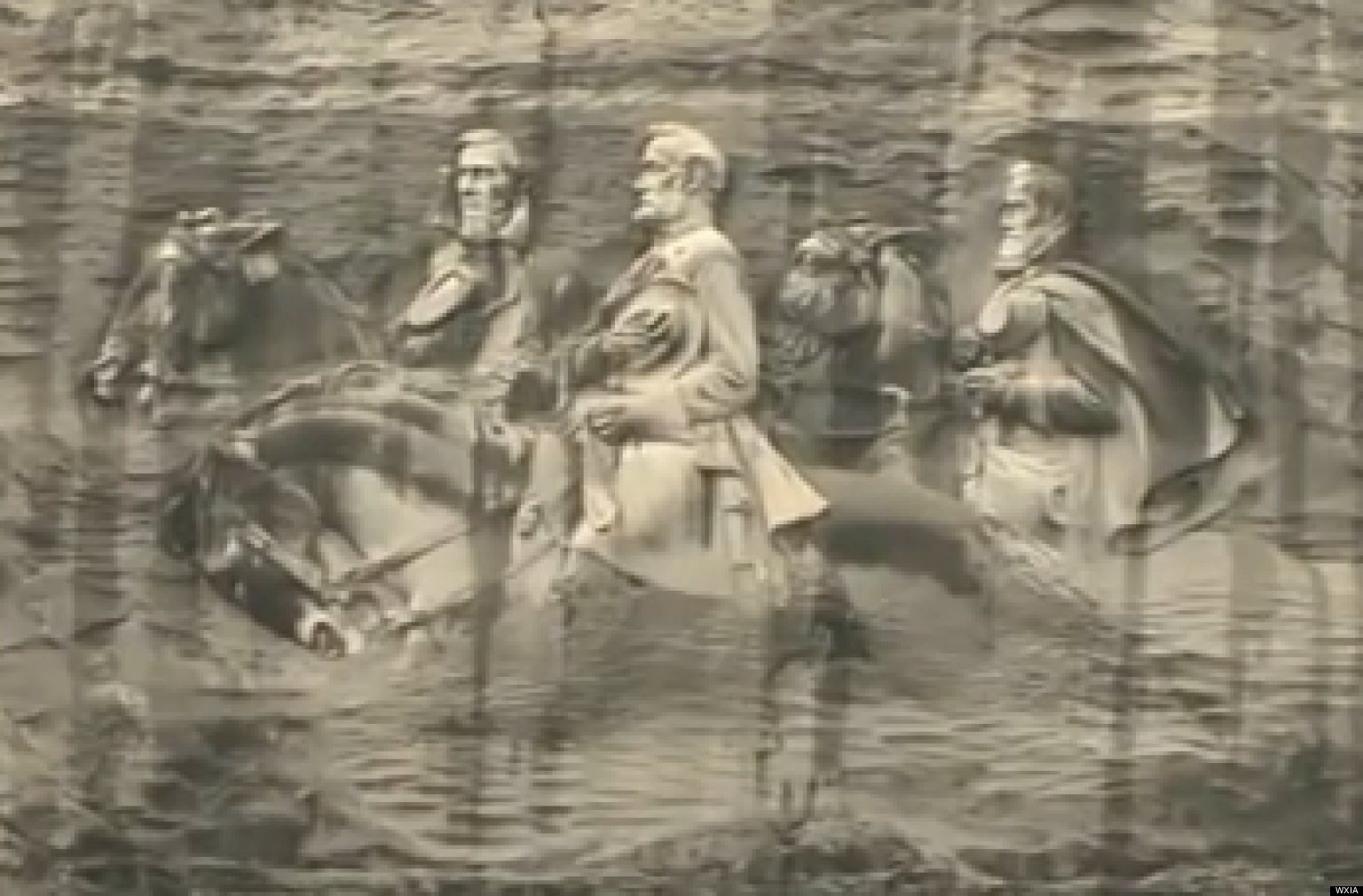 Unsurprisingly atlanta s stone mountain carving is center of