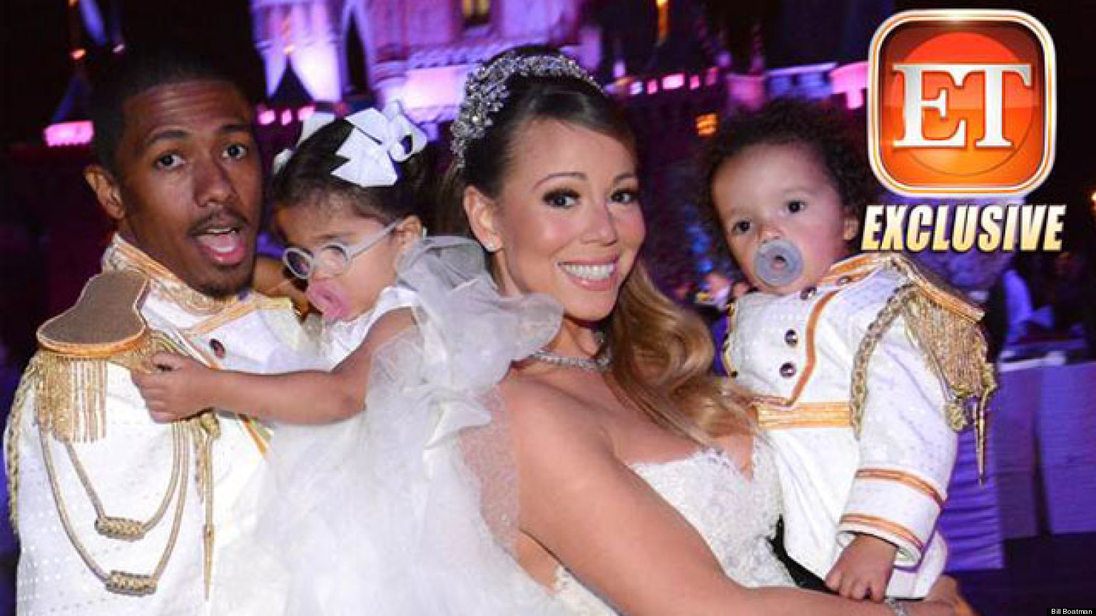 Mariah Carey Nick Cannon Renew Wedding Vows At Disneyland Photo Huffpost