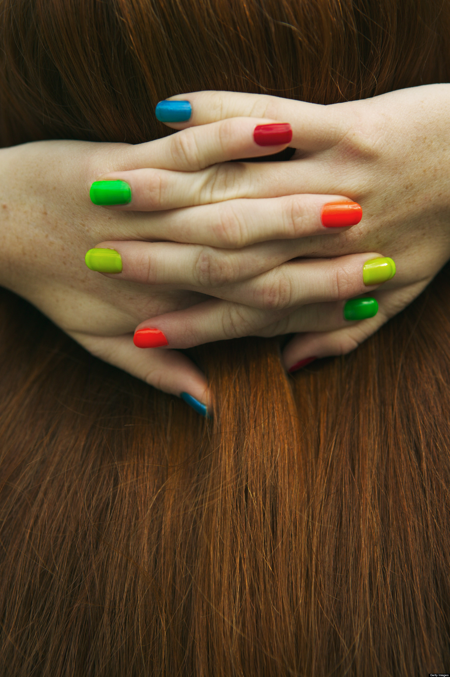 Multi-Colored Nails: Saving Grace or Trendy Waste? | HuffPost