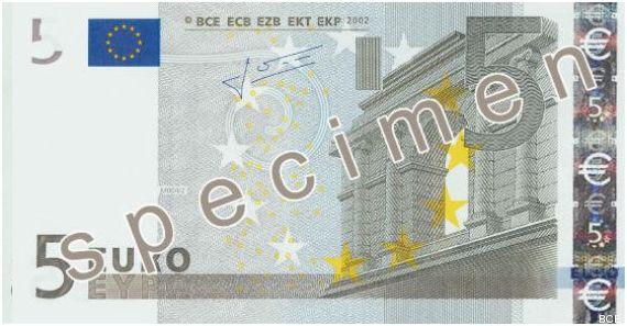 billet cinq euros
